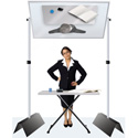 TestRite 486 48 x 72 Inch Jumbo Floor Demonstrator Mirror