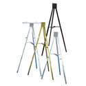 6ft Display Easel - Gold