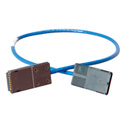 ADC-Commscope PC-GIGE-2 Gigabit Ethernet & RS422 Cat6 Patch Cord - 2-Foot - Blue
