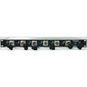 Telecast SHED-6-BS-ST 1RU SMPTE Hybrid Eliminator - 6 ST to Lemo Male