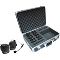 Williams TGS PRO 737 Personal PA Tour Guide System - 10 Select PPA R37N Receivers
