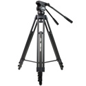 Davis & Sanford Provista 7518B Mid Level Spreader Tripod with Fluid Head and W3 Dolly