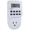 Weekly Programmable Digital Timer w/10 On/Off Programs