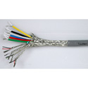 TecNec Plenum 6 Coax 4 Twisted Pair Cable Per Foot