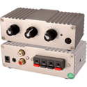 Tecnec 2 Channel Power Amp 10 WPC w/1 3.5mm input & 1 Dual RCA Input