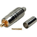 Connectronics TN-RCAV4 75 Ohm RCA Crimp Connector for Canare LV-61S and Belden 8241