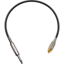 TecNec Premium 1/4in Mono Male - RCA Male Audio Cable 3ft