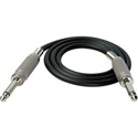 TecNec Premium 1/4in Mono Male - 1/4in Mono Male Audio Cable 50ft