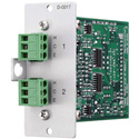 TOA D-001T Dual Mic/Line Input Module with DSP