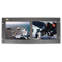 ToteVision LED-1002HD2 Dual 9.7 Inch Rack Mount Monitors