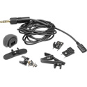 Tram TR50-BSET Lavalier Mic For Sennheiser 3.5mm - Negative Bias - Black