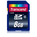 Transcend TS8GSDHC10 8 GB Secure Digital High-Capacity (SDHC) Class 10