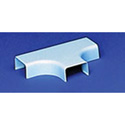HellermannTyton 3/4-Inch Low Voltage Cable Raceway Tee Cover w/1in Bend Radius f