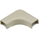 HellermannTyton 3/4-Inch Low Voltage Cable Raceway Flat 90 Elbow for TSR1I-6A 10
