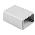 Tyton TSR3W-36 1 3/4 Inch White Cable Raceway End Cap 10 pack for TSR3W-6A/8A