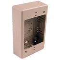 HellermannTyton TSRI-JB1 Single Gang Junction Box - 1-1/4 Inch Deep - Ivory