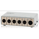 Telex TW-5W 1x5 Dual-Channel 3-Pin XLR-Type Passive Splitter