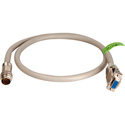 15-Pin HD Twist Lead for Twist and Pull Breakaway Cables- 3 Ft