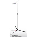 Ultimate Support 17193 TOUR-T-TALL Extra Tall Microphone Stand