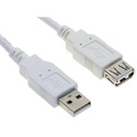 USB 2.0 A Male to A Female USB Extension Cable 10 Feet