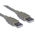 USB 2.0 Cable Type A Male To A Male 10 Foot