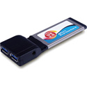2 Port USB 3.0 Express Card Adapter