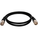 Canare VAC003F BNC to BNC Patch Cable 3ft - Black