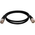 Canare VAC010F BNC to BNC Patch Cable 10ft - Black