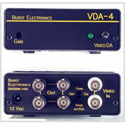 Burst VDA-4YC S-Video 1x4 Distribution Amplifier