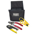 Klein Tools VDV012-811 Coax Installer Starter Kit - F-Connectors