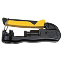 Klein Tools VDV211-063 Compression Crimper - Lateral - Multi-Connector