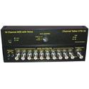 Channel Talker CTD16-C 16 AES Channel Audio Tone Generator with Voice Over ID Fu