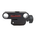 VariZoom VZ-R1007 Adj. Clamp with Top 15mm Mounting Hole & Dual 15mm Rod Mounts