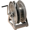 Hannay Reels C1514-17-18 Cable Reel with Slotted Divider Disc Silver