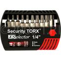 Wiha 79947 10 Piece XL Selector Security Bit Set