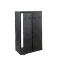 Winsted 88301 Locking Solid Door for 35 Inch Pro Rack Black