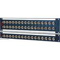 AVP 1x16/ 1RU /16 JJ300 4K UHD 18 Ghz Feedthru BNC Non-Recessed Patchbay
