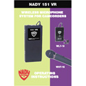 Nady Lavalier Microphone Transmitter 171.905