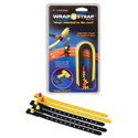 Wrap N Strap 900 9inch Adjustable Cord & Cable Straps/Fasteners 5 pack