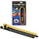 Wrap N Strap 924 24In. Adjustable Cord & Cable Straps/Fasteners 3 pack