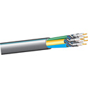 West Penn Wire 255CRGB RGBHV 5 Coax Plenum Cable PER FOOT Black