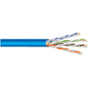 West Penn Wire 4245 Catagory 5E Cable w/PVC Jacket 1000ft Blue
