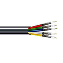 West Penn 5CRGB 5 Conductor 25 AWG Miniature RGBHV Coaxial Cable