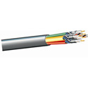 West Penn 6 Coax 2 Balanced Audio 22AWG Multiconductor Cable by the Ft