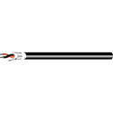 West Penn AQ293 18/2 Aquaseal Fire-Alarm Cable - Direct Burial - 1000 Feet Black