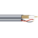 West Penn AQC2806 RG6/U CCTV & Power Coaxial Cable - 1000 Ft.