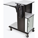 H. Wilson WPS4HDCE Mobile Presentation Station with Locking Cabinet