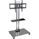 H Wilson WPSMS62SCH-4 - 65-Inch Stationary Flat Panel TV Stand & Mount