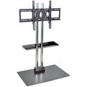 H Wilson WPSMS62CH - 60-Inch Stationary Flat Panel TV Stand & Mount