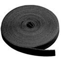 WTV50XB Hook & Loop 3/8in x 150 Ft Roll -Black